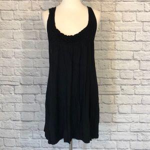 Love Notes Casual Little Black Racerback Dress